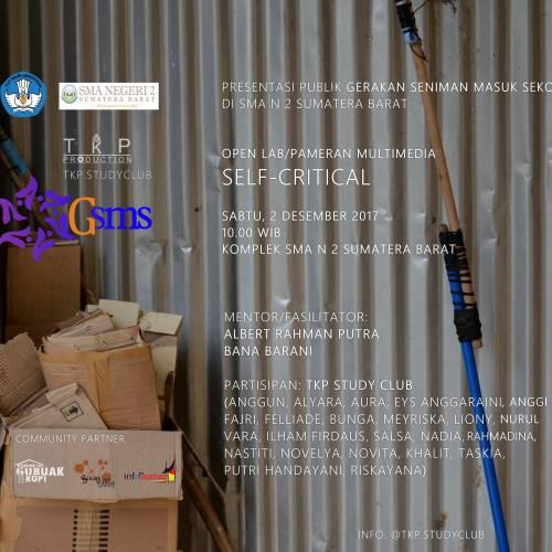 Pameran Multimedia: SELF-CRITICAL
