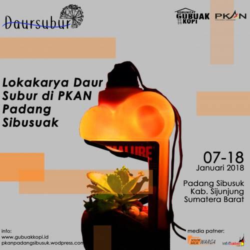 Lokakarya Daur Subur di Padang Sibusuk